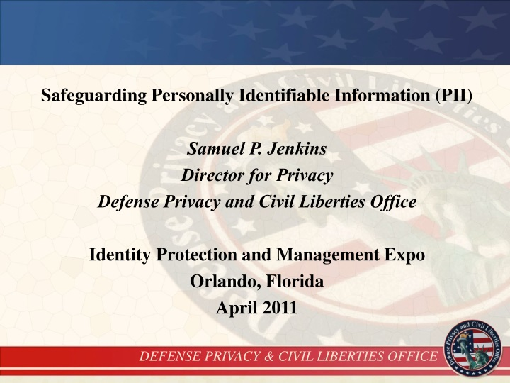 safeguarding personally identifiable information n.