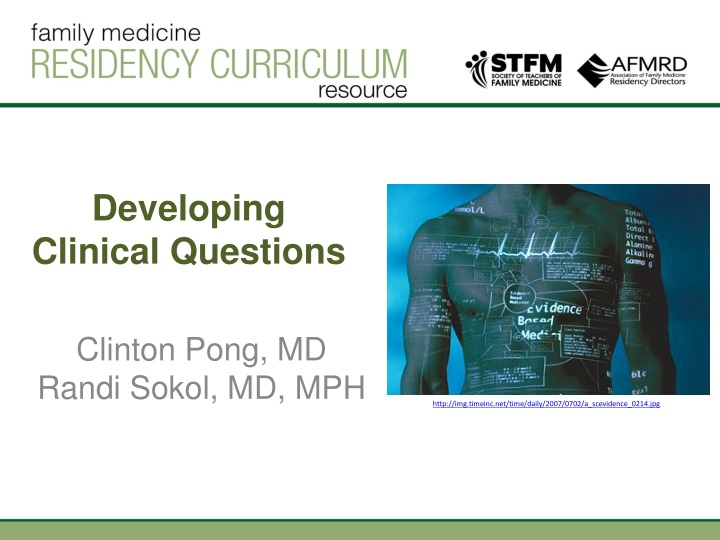 developing clinical questions n.