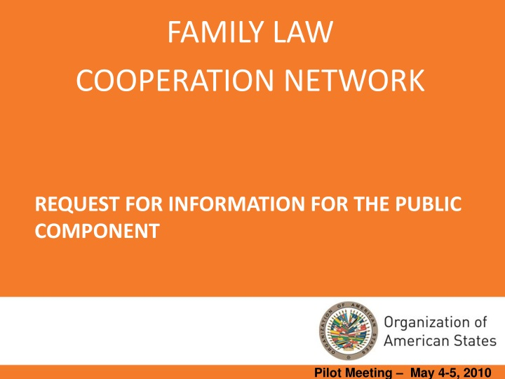 request for information for the public component n.