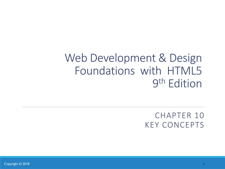 web development design foundations with html5 9 th edition n.