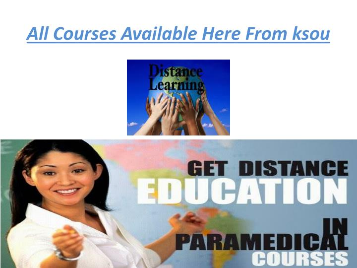 All Courses Available Here From