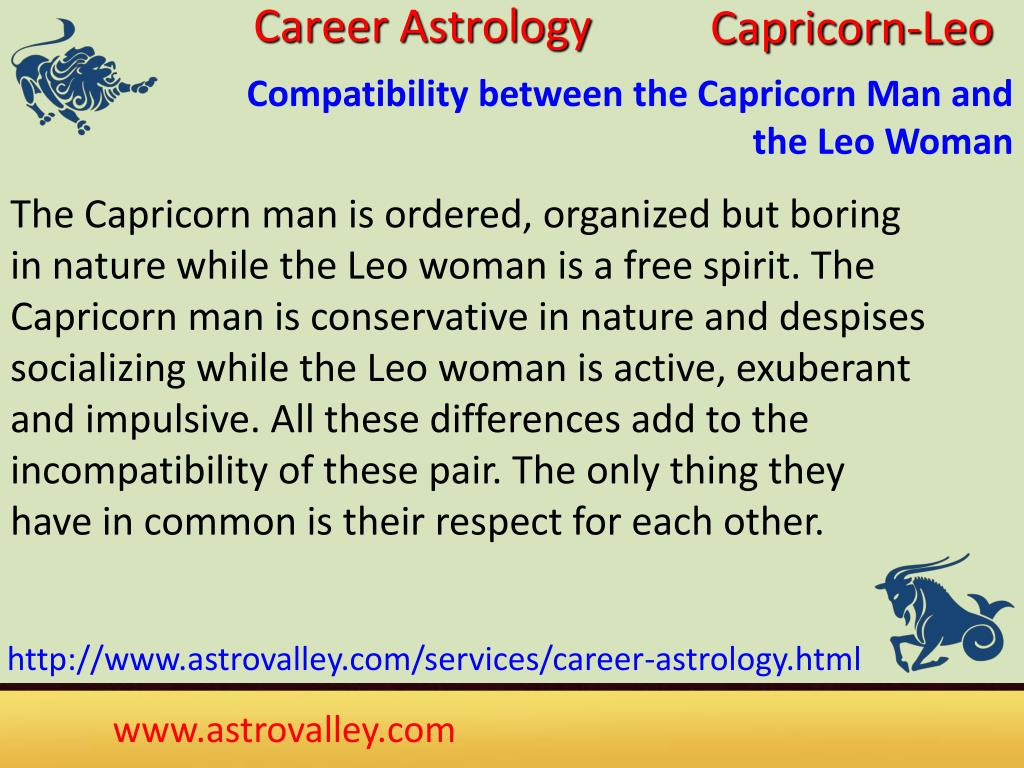 PPT - Capricorn and Leo Love Relationship PowerPoint Presentation