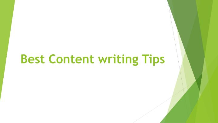 best content writing tips n.