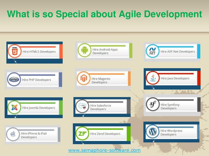 what is so special about agile development n.