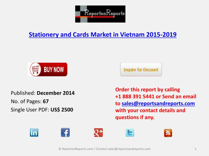 stationery and cards market in vietnam 2015 2019 n.