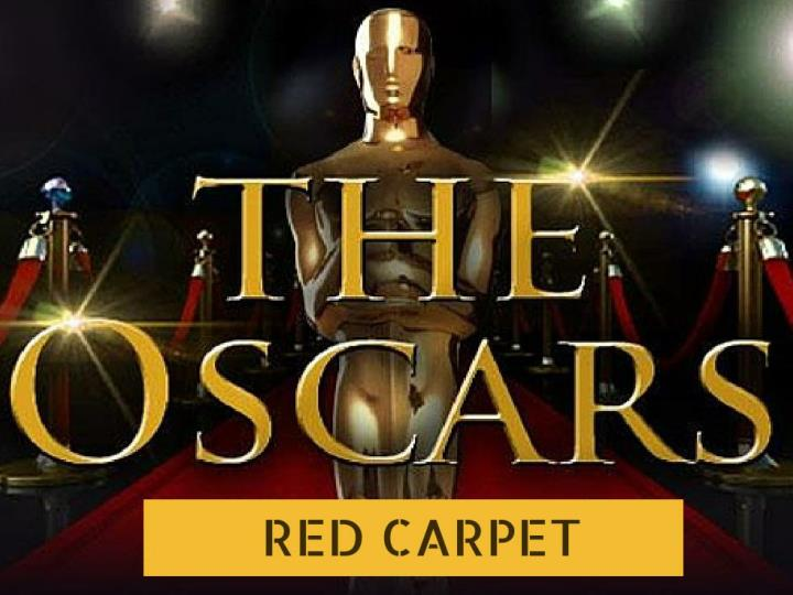 the oscars red carpet n.