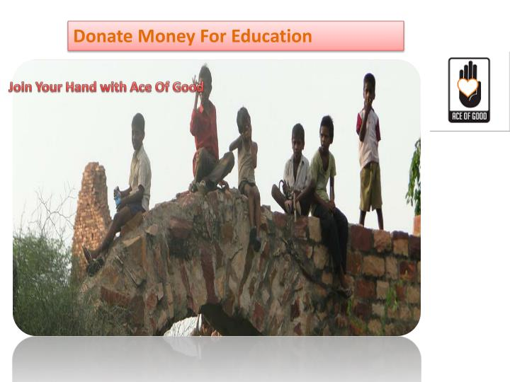 Donate Money For Education
