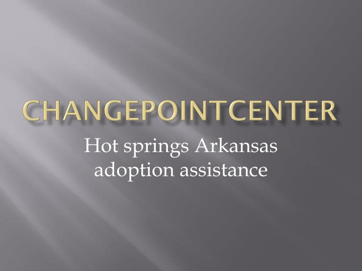changepointcenter n.