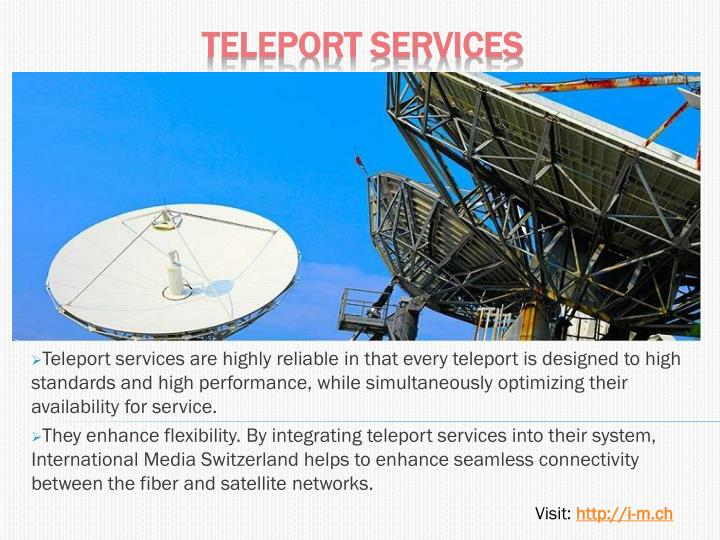 teleport services n.