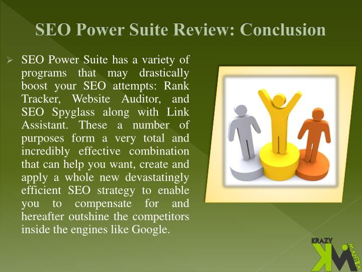 SEO Power Suite Review: