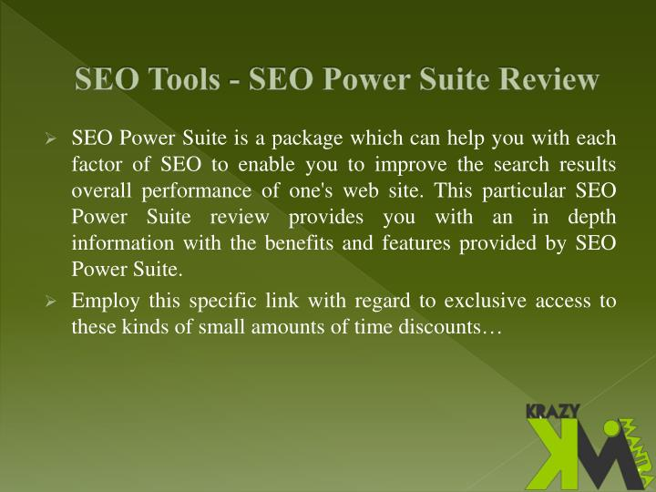 Seo tools seo power suite review