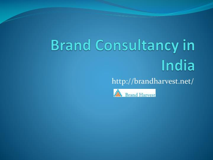 brand consultancy in india n.