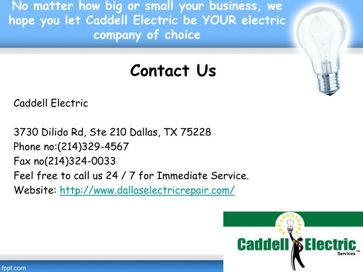 Ppt 5 Types Of Commercial Electrical Services Offered By