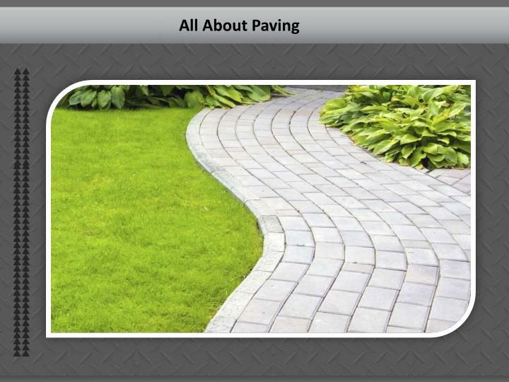 All About Paving