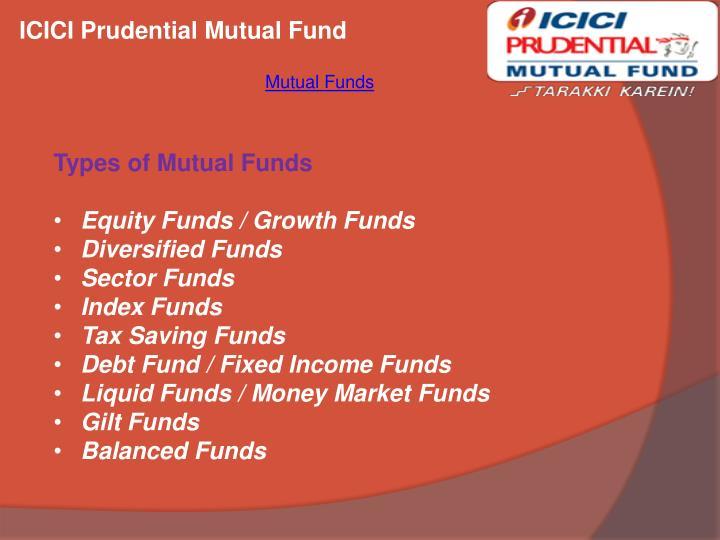 ICICI Prudential Mutual Fund