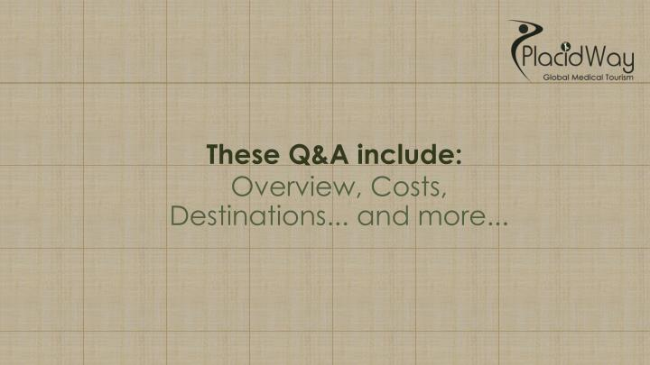 These Q&A include: