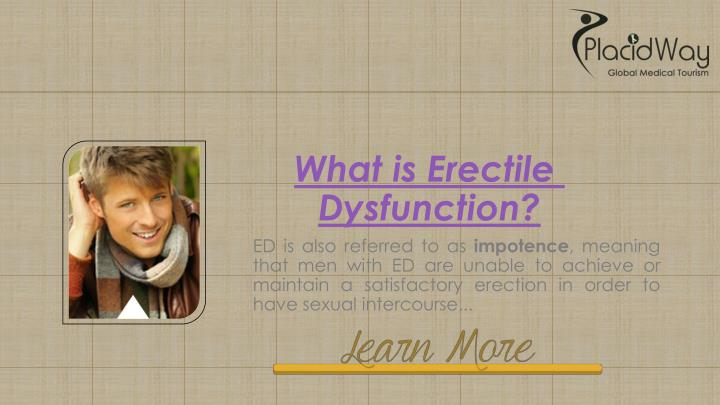 What is Erectile