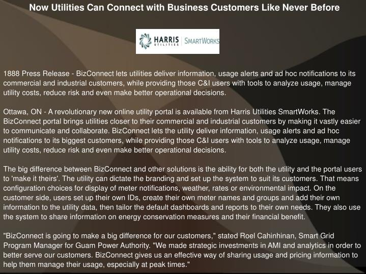 Now Utilities Can Connect with Business Customers Like Never Before