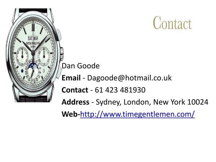 Dan Goode