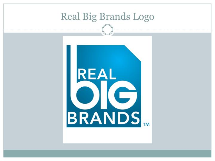 Real big brands logo