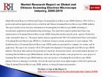 market research report on global and chinese scanning electron microscope i ndustry 2009 2019