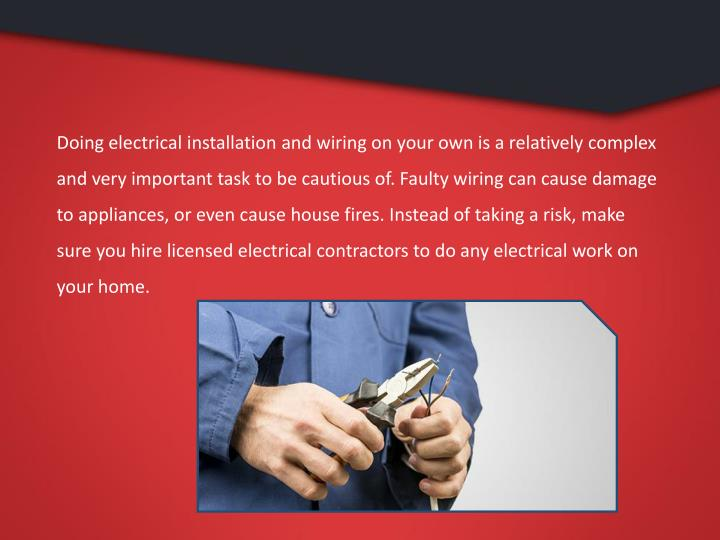 PPT - Tips to Hire Home Electrical Repair Services in Kansas City ...