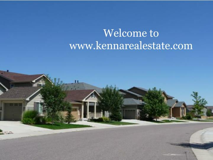 welcome to www kennarealestate com