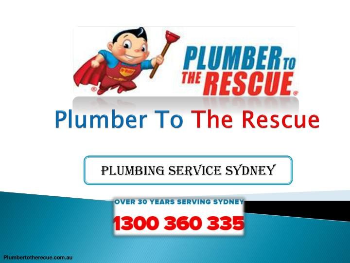 Ppt Plumbing Service In Sydney