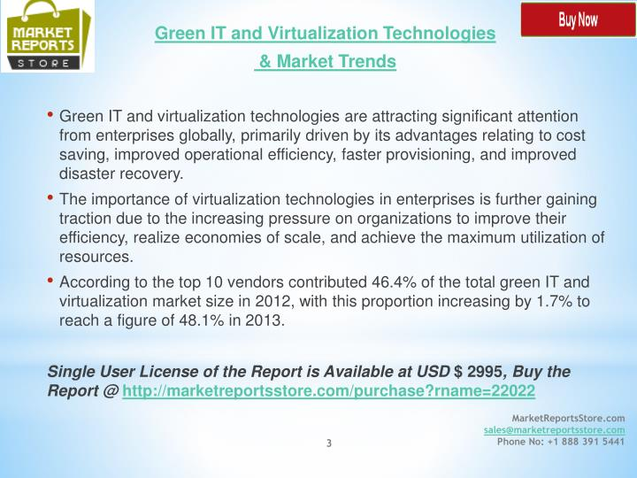 Green IT and Virtualization Technologies