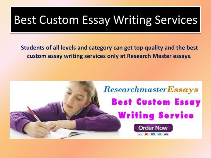 The best custom essay