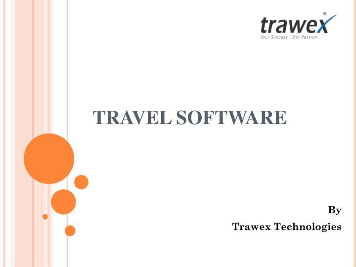 travel software n.