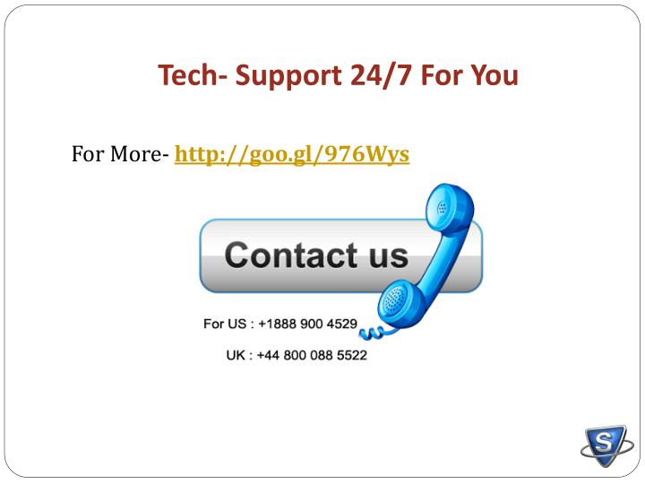 Tech- Support 24/7 For You