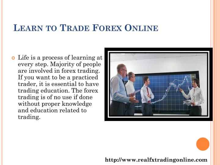 Learn to trade forex online