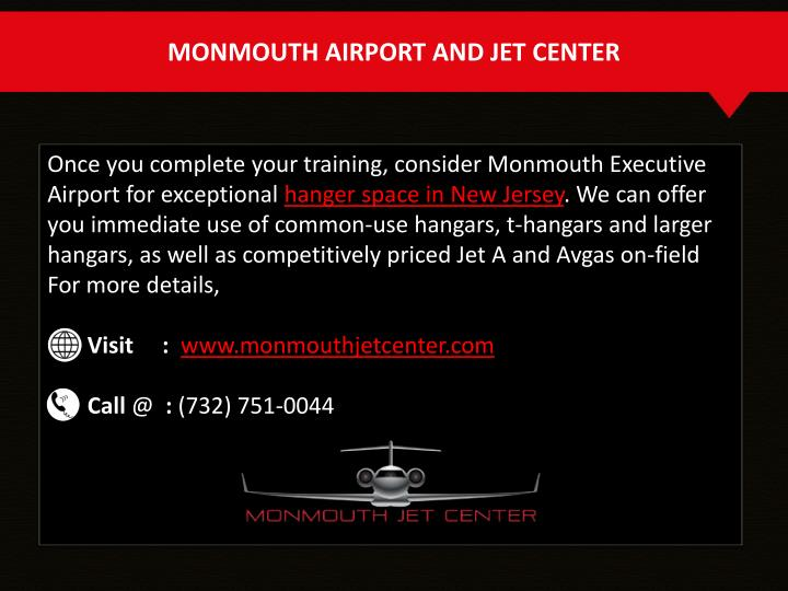 MONMOUTH AIRPORT AND JET CENTER