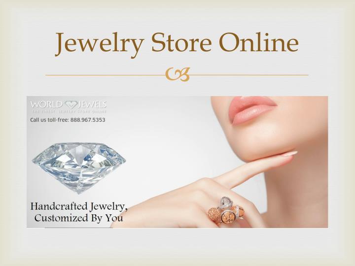 Jewelry store online