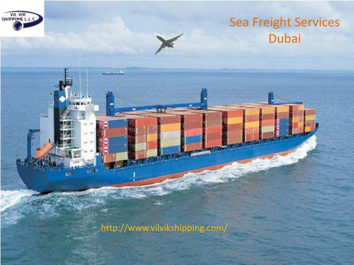 Sea Freight Services Dubai