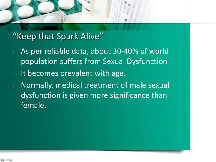Keep that spark alive