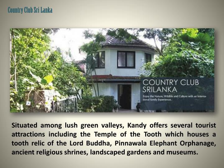 Country Club Sri Lanka