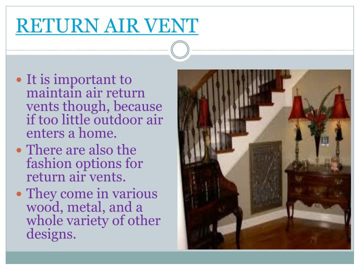 return air vent n.