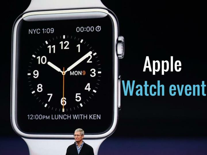 apple watch event n.