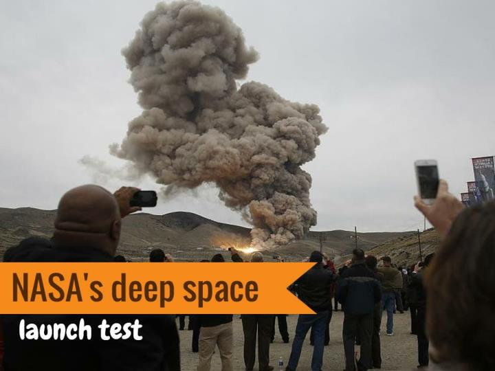 nasa s deep space launch test n.