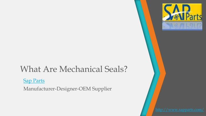 what are mechanical seals n.