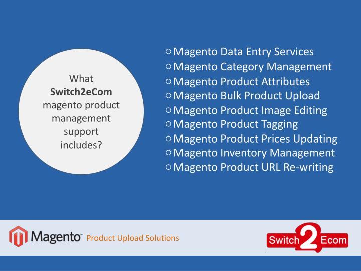 Magento Data Entry Services