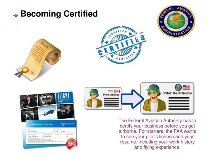 Becoming Certified