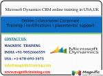 online classroom corporate training certifications placements support