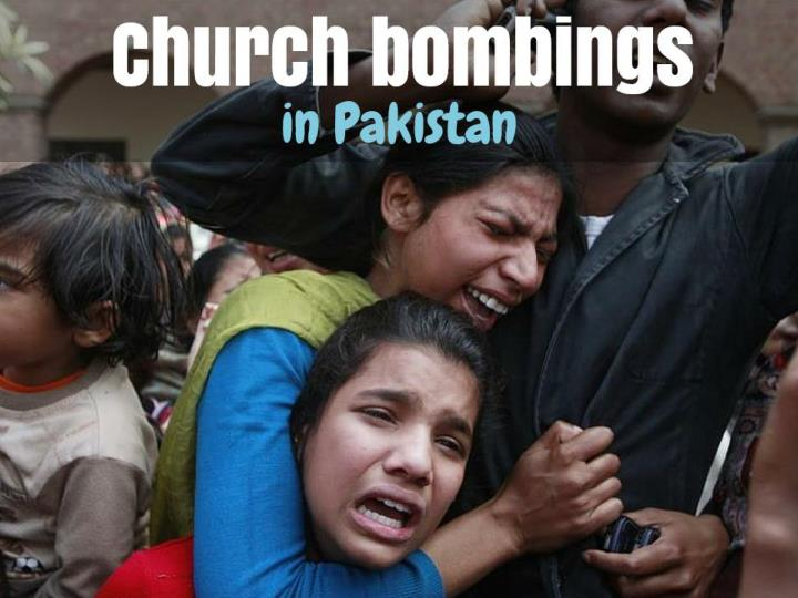 church bombings in pakistan n.