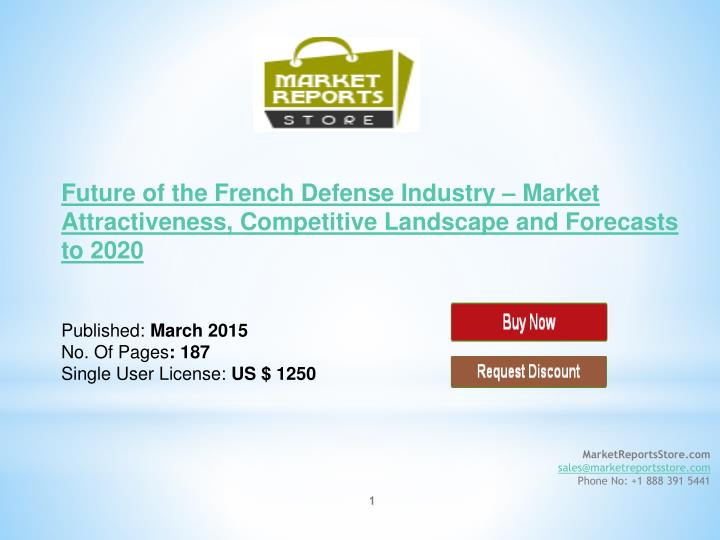 market analysis future of the french defense