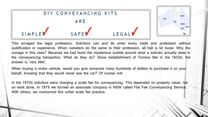 Ppt conveyancing act powerpoint presentation id7134023 solicitors can and do enter solutioingenieria Gallery