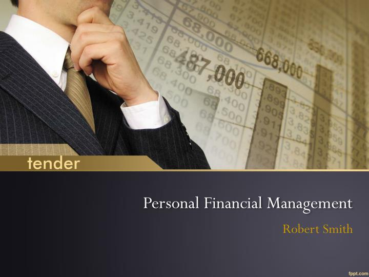 personal financial management n.