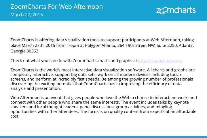 ZoomCharts For Web Afternoon